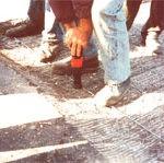 4 Mocowanie siatki MT 1 do podłoża za pomocą osadzaka